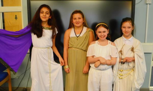 Greek Day Y5