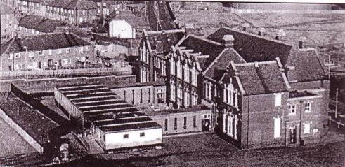 back view of old Grangetown Primary